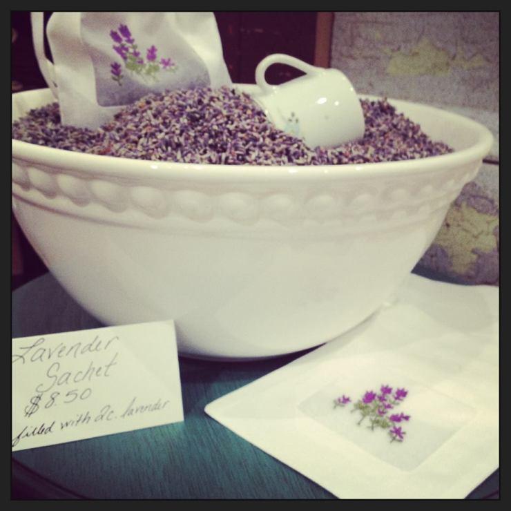 lavendar sachet