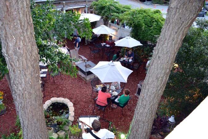 Lowcountry Backyard patio HHI