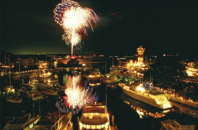 hilton head fireworks