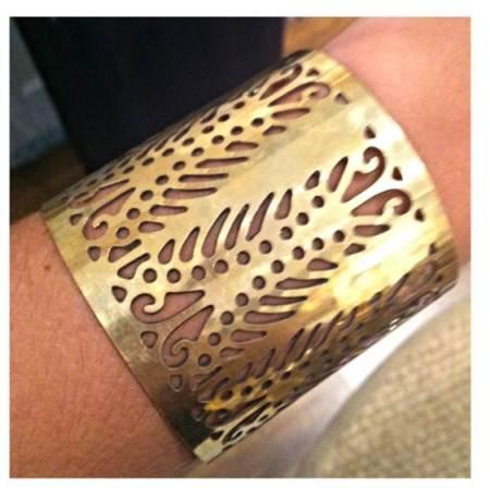 gold cuff louette