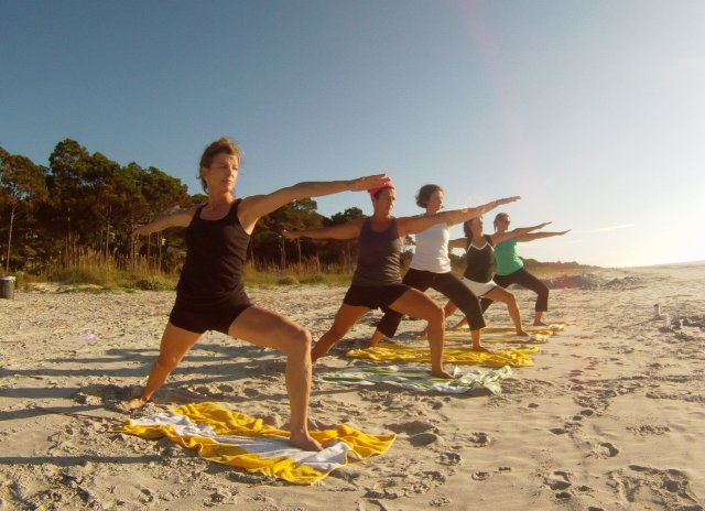 jiva beach yoga