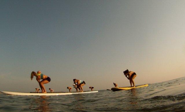 jiva paddleboard yoga