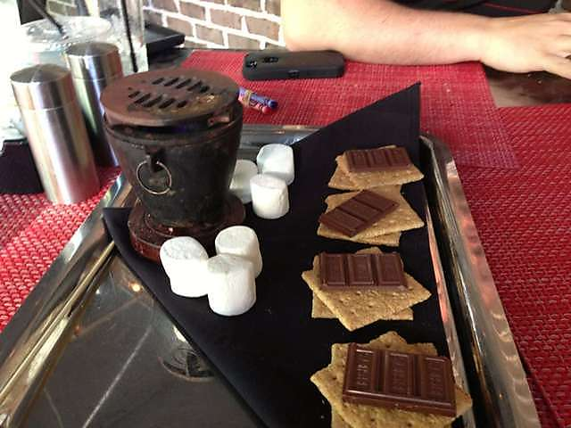 Smores at Frankie B's