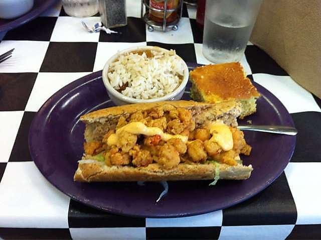 Kenny B's Crawfish PoBoy