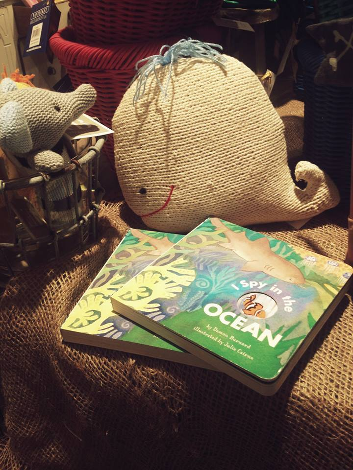 More baby books and that bute crocheted whale!