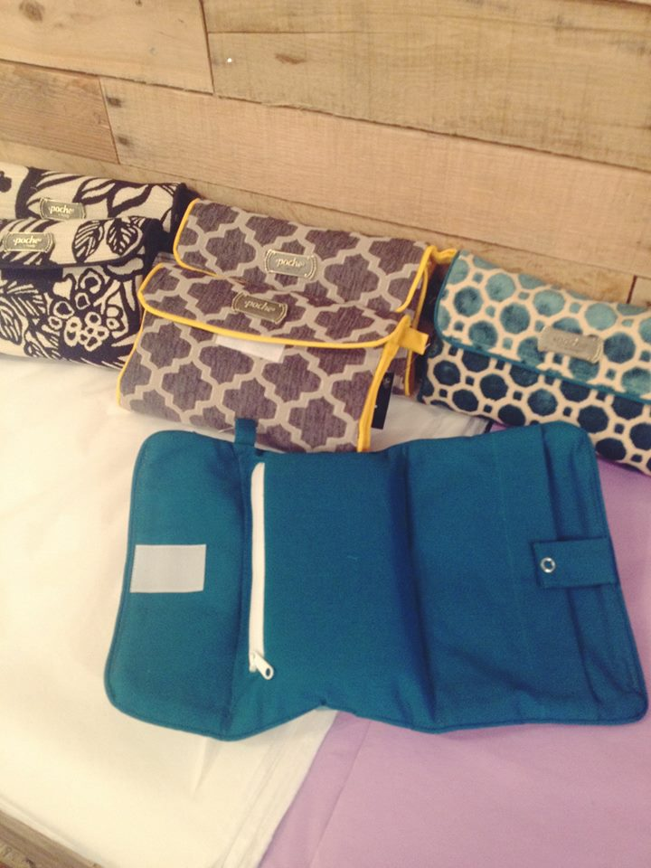 Daiper clutch, because no one wants an ugly diaper bag!